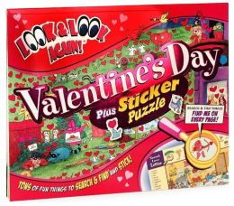 Valentine's Day Plus Sticker Puzzle (Look & Look Again Series)