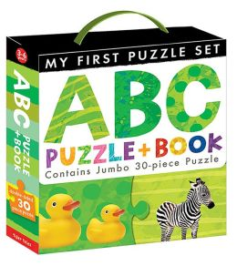 ABC Puzzle and Book Boxed Set
