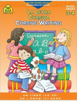 Cursive Writing 3-4 Workbook