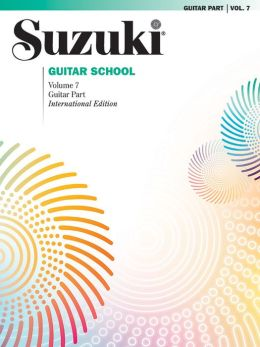 Suzuki Guitar School, Vol 7: Guitar Part