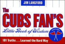 Cubs Fan's Little Book of Wisdom--12-Copy Counter Display