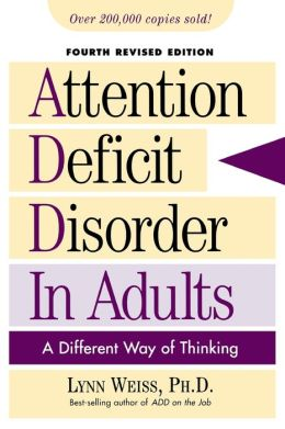 Adult attention deficit in pro ser