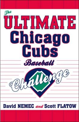 Ultimate Chicago Cubs Baseball Challenge