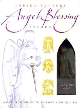 Angel Blessing Stamps with Book and Other