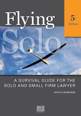 Flying Solo: A Survival Guide for Solos and Small Firm Lawyer