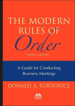 Modern Rules of Order