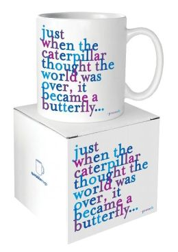 Quotable Caterpillar Butterfly Mug