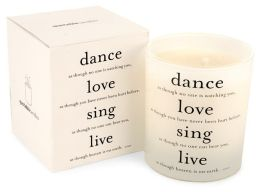 Quotable Candle Dance Love Sing Live