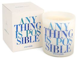 Quotable Candle Anything is possible