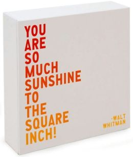 You Are So Much Sunshine Notecard Set of 20