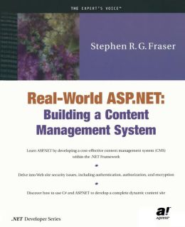 Real World ASP.NET: Building a Content Management System