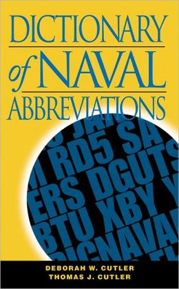 Dictionary of Naval Abbreviations