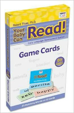Your Baby Can Read: 50 Game Cards