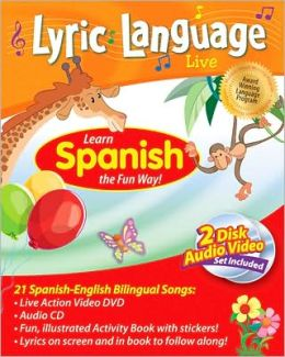 Lyric Language Spanish (DVD, CD, Book)