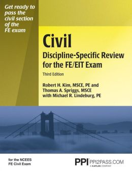 Civil Discipline-Specific Review for the FE/EIT Exam