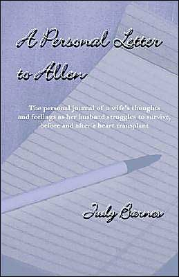 A Personal Letter To Allen