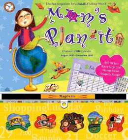 2004 Mom's Plan-It Magnetic Wall Calendar