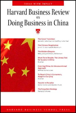 Harvard Business School on Doing Business in China