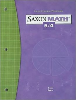 Saxon Math 5/4: Fact Practice Workbook