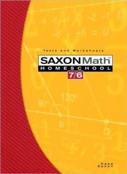 Saxon Math 7/6 Homeschool: Testing Book 4th Edition