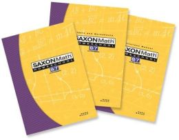 Saxon Math 8/7 Homeschool: Complete Kit 3rd Edition