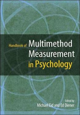 Handbook of Multimethod Measurement in Psychology