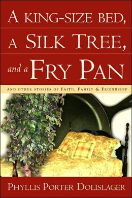 King-Size Bed, a Silk Tree, and a Fry Pan
