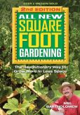 Book Cover Image. Title: All New Square Foot Gardening, Second Edition:  The Revolutionary Way to Grow More In Less Space, Author: Mel Bartholomew