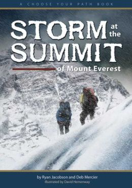 Storm at the Summit of Mount Everest: A Choose Your Path Book