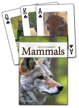 Mammals of the Southwest Playing Cards
