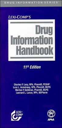 Drug Information Handbook 2003-2004