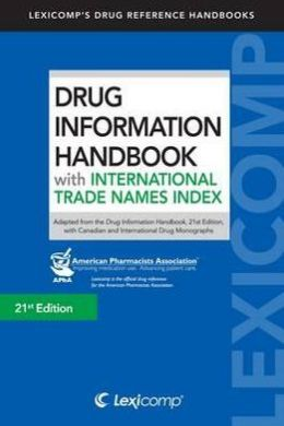 Drug Information Handbook with International Trade Names Index