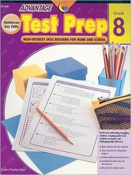 Advantage Test Prep Grade 8: High Interest Skill Building for Home and School
