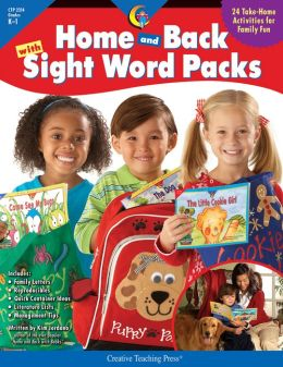 Home & Back With Sight Word Packs