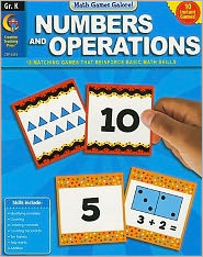 Numbers and Operations, Gr. K - Math Games Galore