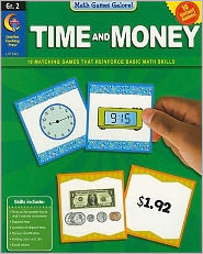 Time and Money, Gr. 2 - Math Games Galore