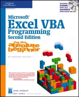 Microsoft Excel VBA Programming for the Absolute Beginner, Second Edition