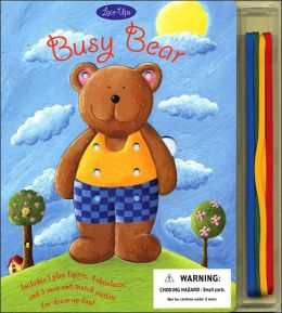 Busy Bear Lace-Ups