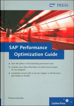 SAP Performance Optimization Guide (SAP Technical Support Guides Series)