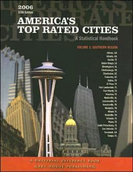 America's Top-Rated Cities, Volume 1: Southern Region: A Statistical Handbook