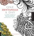 Book Cover Image. Title: One Zentangle A Day:  A 6-Week Course in Creative Drawing for Relaxation, Inspiration, and Fun, Author: Beckah Krahula