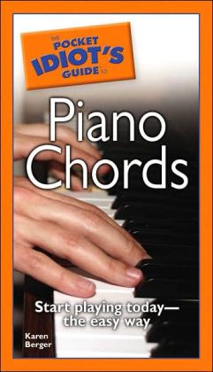 The Pocket Idiot's Guide to Piano Chords