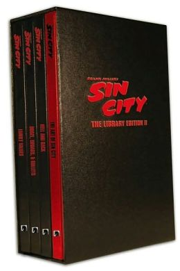 Sin City: The Frank Miller Library, Set II (4 Volume Set)