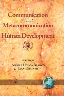 Communication And Metacommunication In Human Development (Hc)