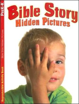 Bible Story Hidden Pictures: Coloring and Activity Book