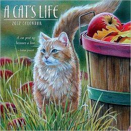 2012 A Cat's Life Wall Calendar