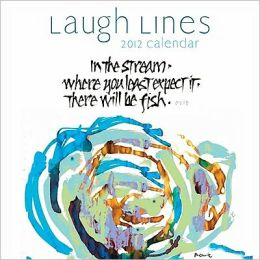 2012 Laugh Lines Mini Wall Calendar