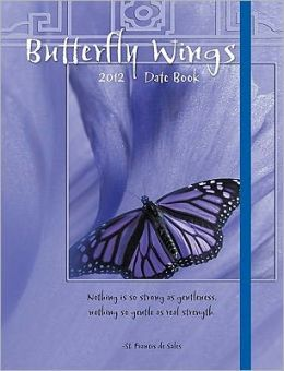 2012 Butterfly Wings Datebook Calendar