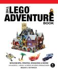Book Cover Image. Title: The LEGO Adventure Book, Vol. 2:  Spaceships, Pirates, Dragons & More!, Author: Megan H. Rothrock