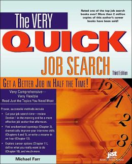 The Very Quick Job Search, Third Edition Workbook